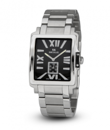Relógio Masculino Seculus Swiss Made 449211069MSSB Pulseira de aço e vidro de Safira com 02 anos de Garantia