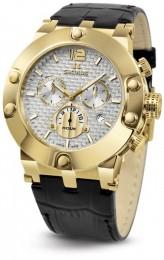 Relógio Masculino Seculus Swiss Made Pulseira de  Couro Coleção Emir 44902503DLBYW