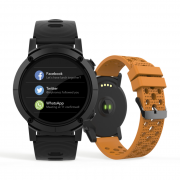 Relógio Smartwatch Seculus Masculino Gps  79004G0Svnv1 Esporte
