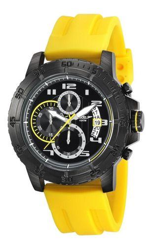 Relógio Masculino Speedo Preto Cronógrafo 24870gpevpi1