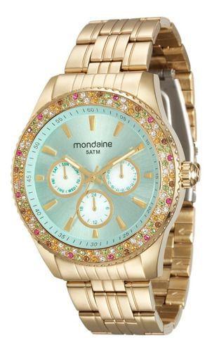 Relógio Feminino Mondaine Dourado 78731lpmvda2