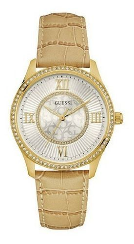 Relógio Feminino Guess Pulseira de Couro Ladies Dress 92594LPGDDC1