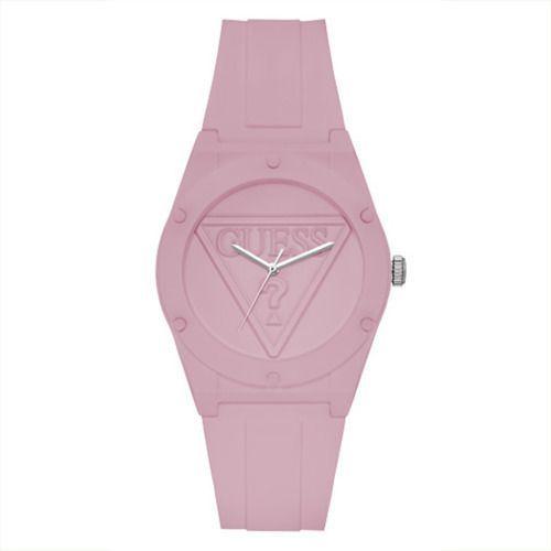 Relógio Feminino Guess Pulseira de Esportivo Rosa Fundo Rosa 92762L0GTNP1