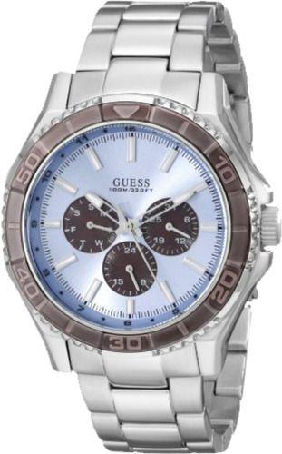 Relógio Masculino Guess Pulseira de Aço Men Dress 92564G0GSNA1