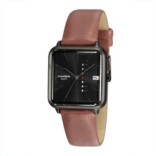 Relógio Masculino Mondaine Couro 32022gpmvsh1