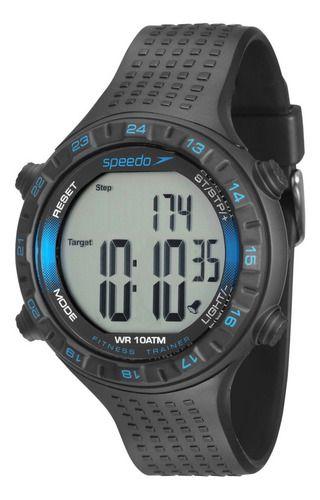 Relógio Masculino Speedo Pedômetro Cronômetro 80574g0evnp1