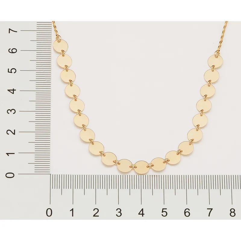 Chocker feminina rommanel 532055 medalhas gio antonelli med.