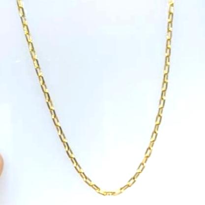 Corrente Cartier GC Folheado a Ouro med. 70 cm AT0926CRDR7