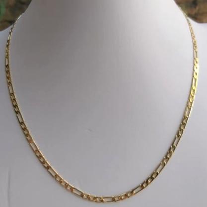 Corrente Elo Cartier GC Folheaado Ouro med. 60 cm AT0927CRDR6