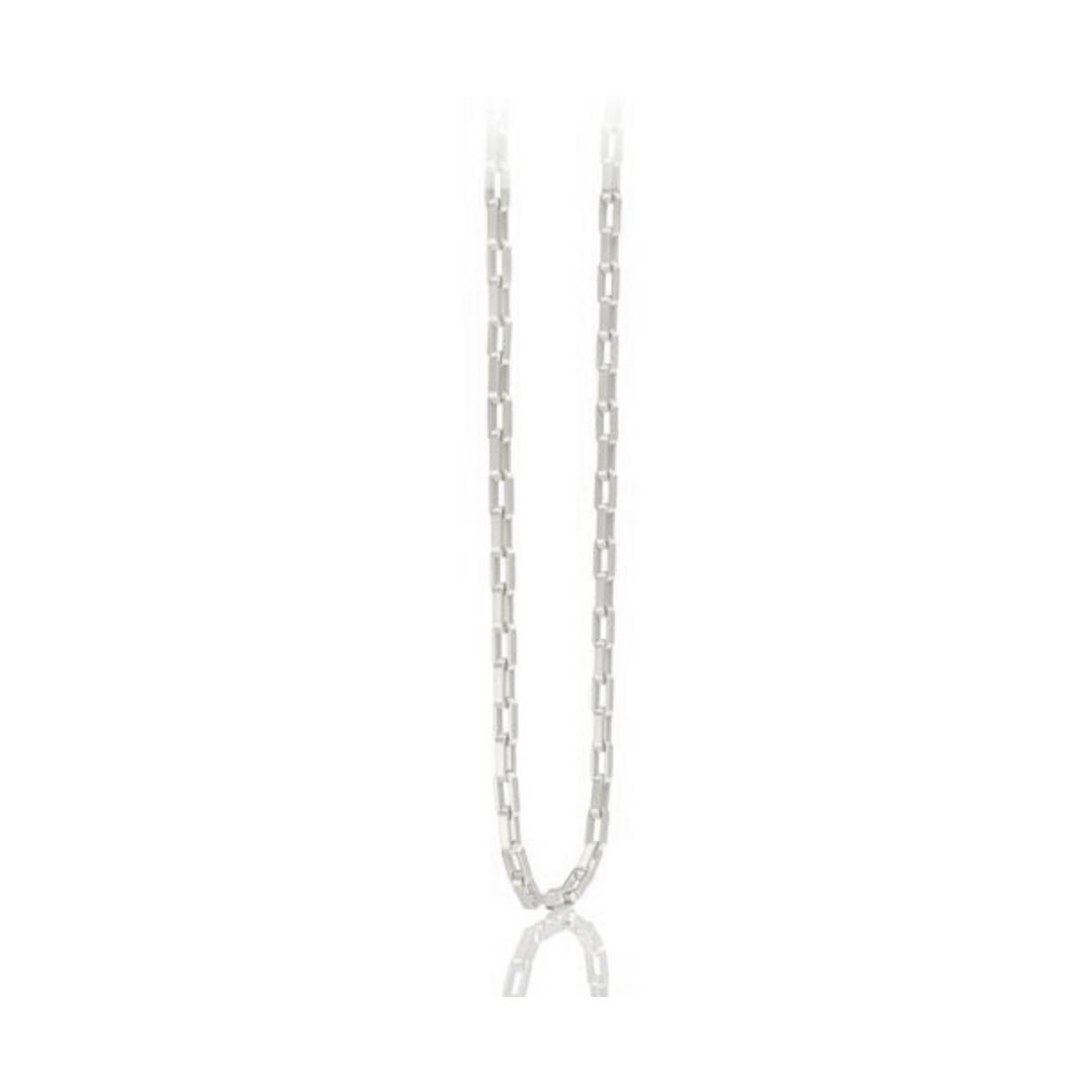 Corrente Elo Cartier GC Folheaado Rhodium AT0910CRDR5 med. 50 cm