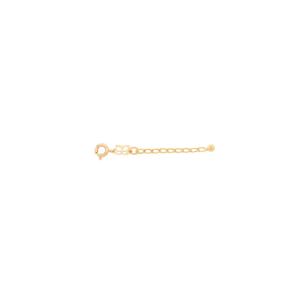 Extensor rommanel folheado a ouro 531949  tam. 5 cm