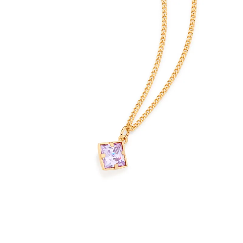 Gargantilha feminina rommanel 531956 com cristal med. 45 cm