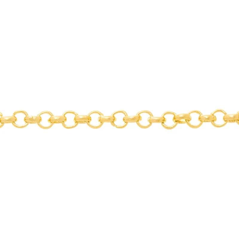 Gargantilha Rommanel Fio Elo Português 530676 Med. 40 cm