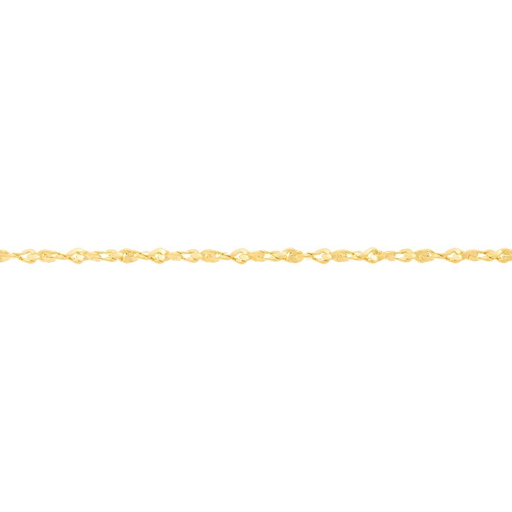 Gargantilha folheada a ouro rommanel 530411 med. 35 cm