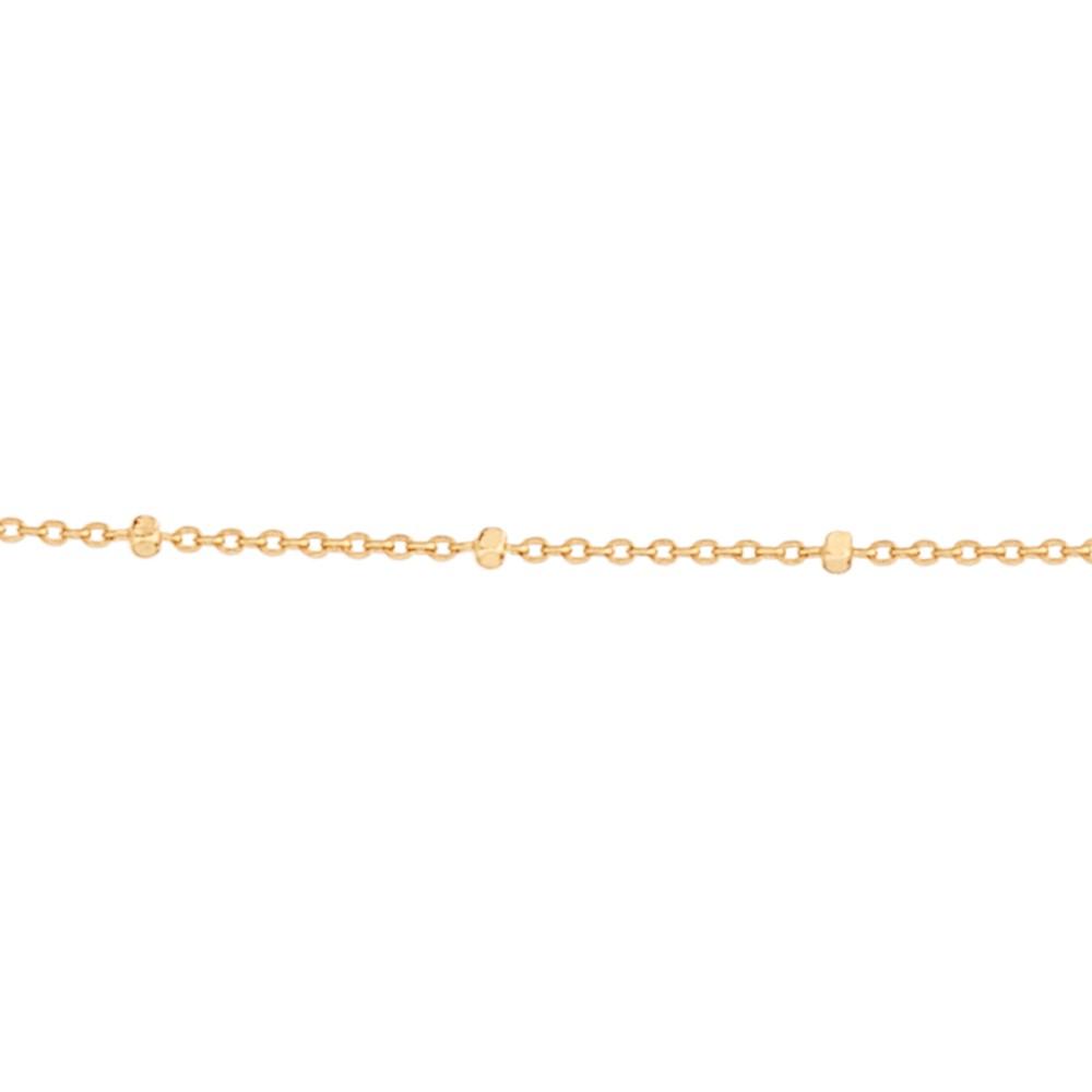Gargantilha folheada a ouro ROMMANEL 531967 med. 50 cm