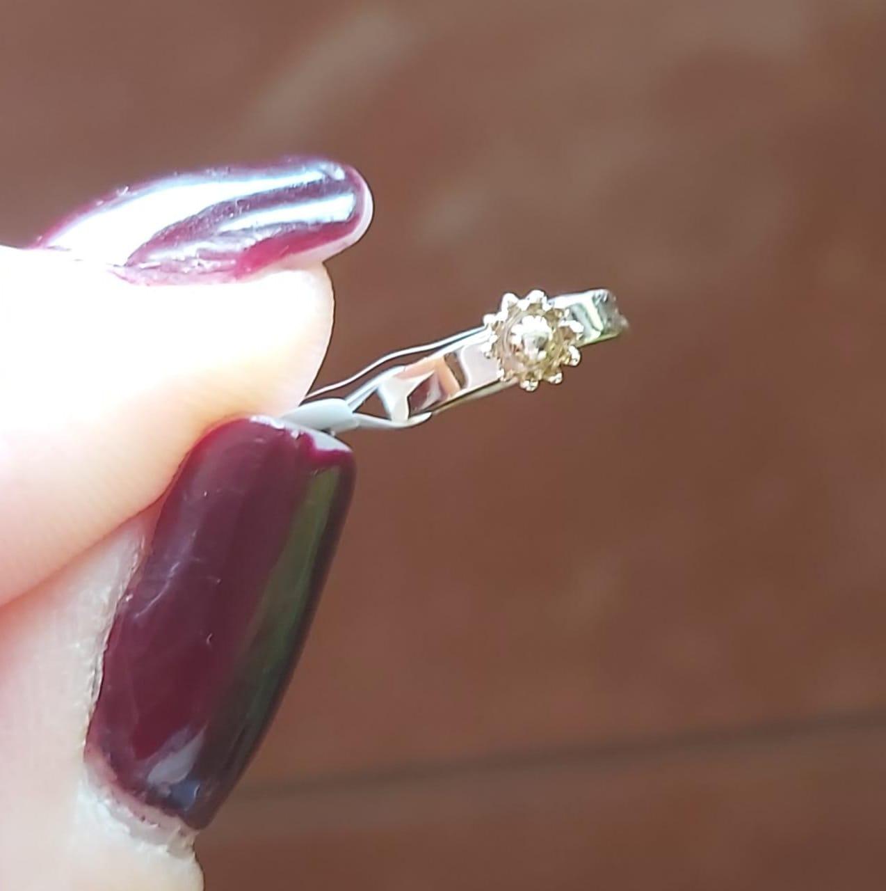 Piercing Pressão Flor GC folheado a Ouro CR7721PCDR