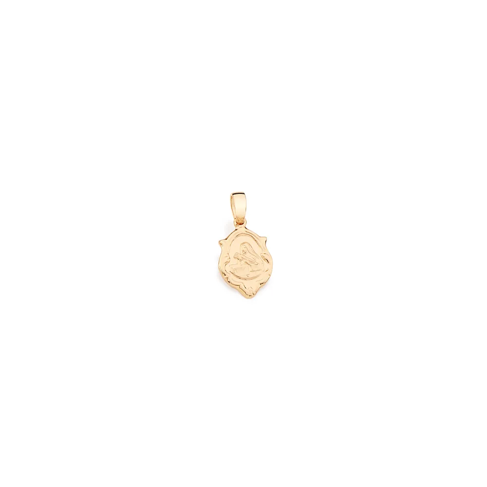 Pingente Rommanel 540511 santa rita med. 1,7 cm