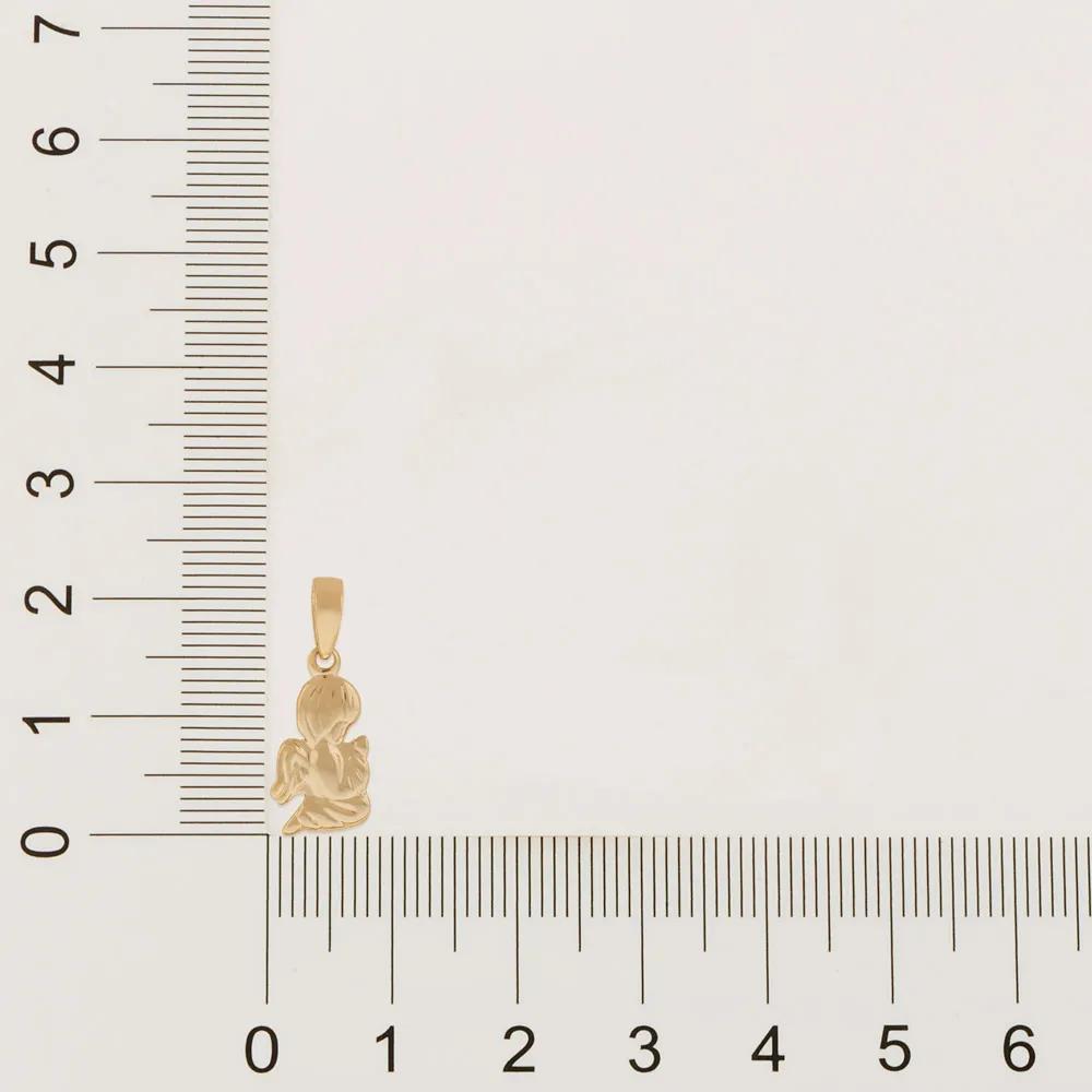 Pingente Rommanel 540290 anjo da guarda med. 2,0 cm