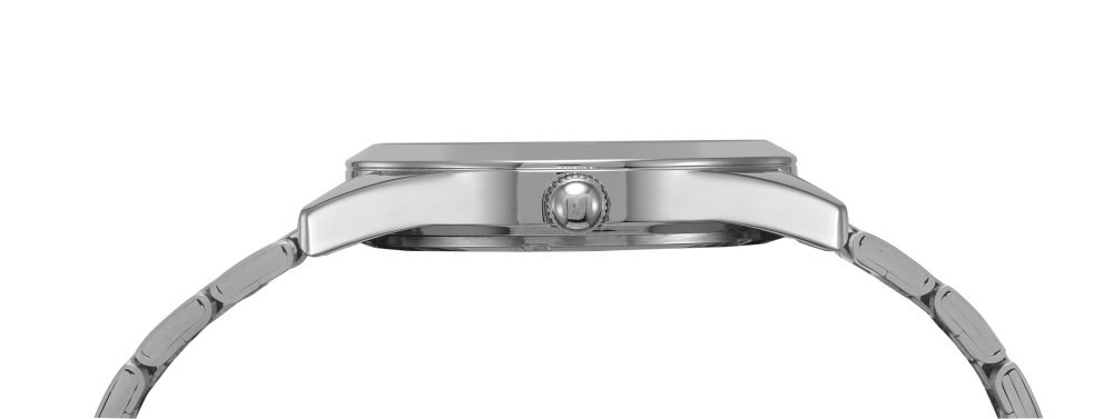 Relógio Feminino Mondaine Pulseira de Aço Inoxidável Prata Fundo Branco