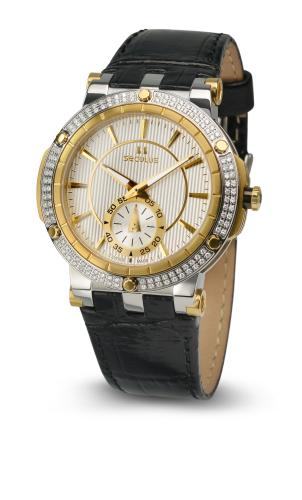 Relógio Feminino Seculus Swiss Made Pulseira de  Couro Coleção Sultana Flat 170251069LBTGW