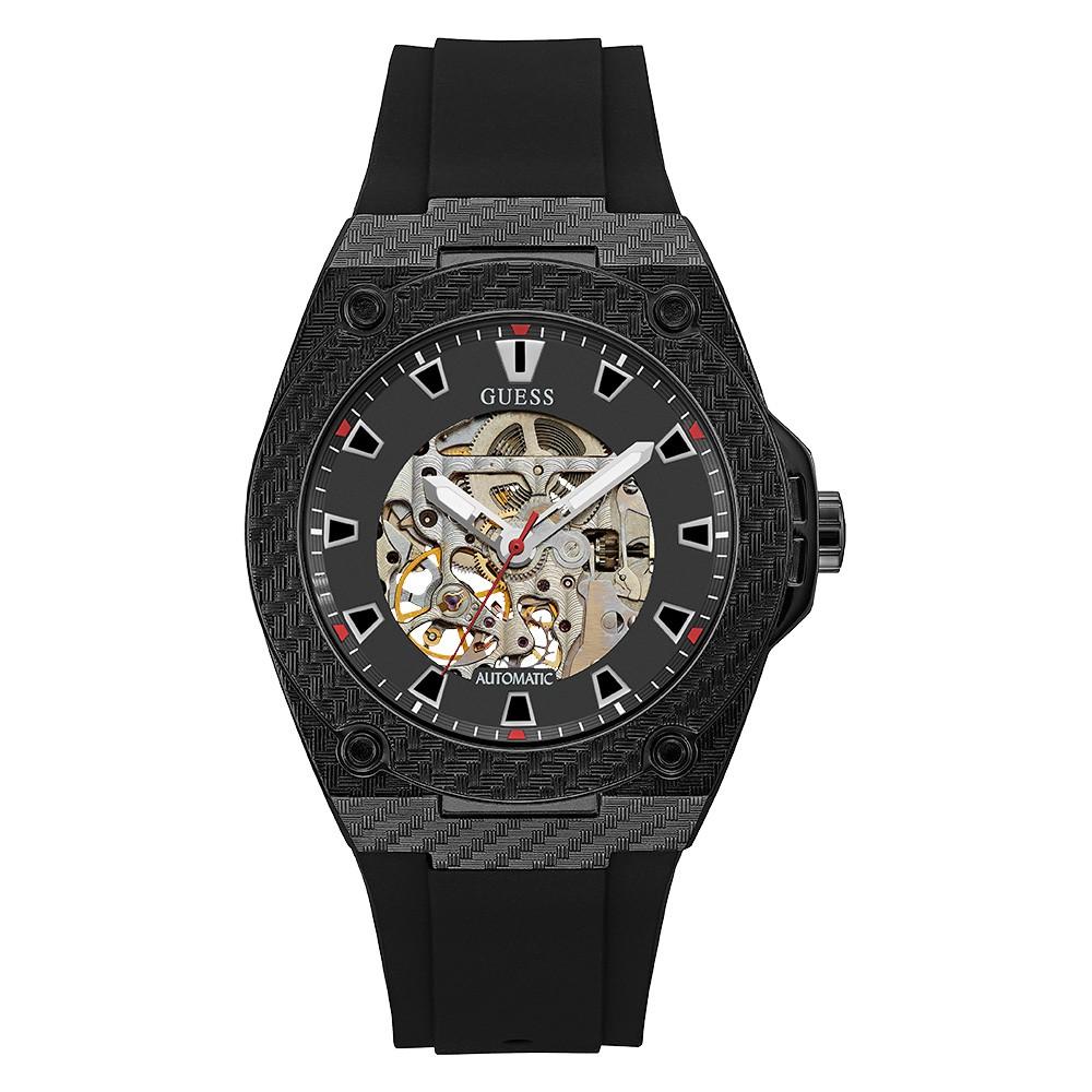 Relógio Masculino Guess Pulseira de Esportivo Preto Fundo Preto 92750GPGSPU1