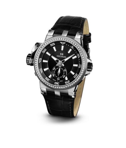 Relógio Feminino Seculus Swiss Made Safira 17031069LBBAP