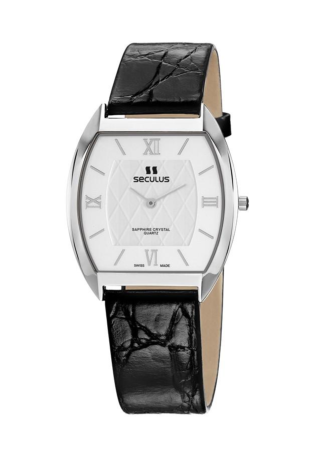 Relógio Feminino Seculus Swiss Made Safira 44531106LBYWR