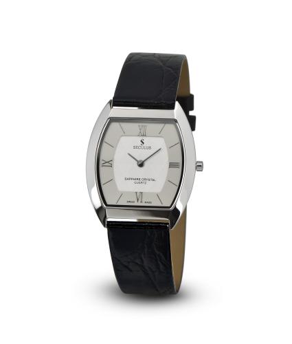 Relógio Feminino Seculus Swiss Made Safira 44561106LBSSW
