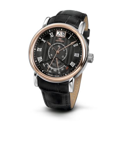 Relógio Masculino Seculus Swiss Made Pulseira de  Couro Coleção Pythagoras 450637003L2TRB