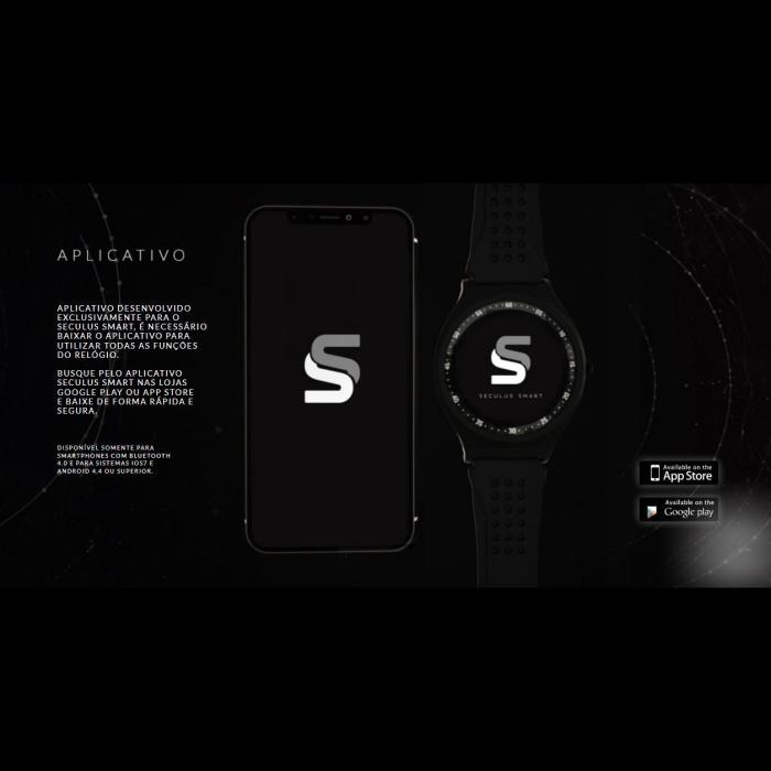 Relógio Masculino Smartwatch Esporte com GPS 79000GPSVPV1