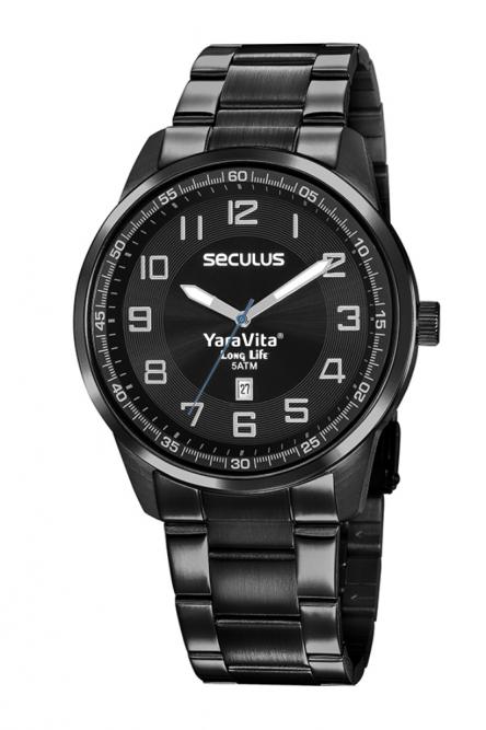 Relógio Personalizados Yara Vita - 20785GPSVPA3 Centralizado Positivo