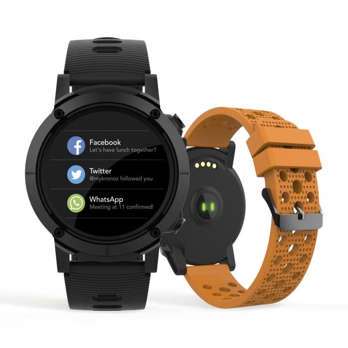 Smartwatch Seculus Smart Masculino GPS 79004G0Svnv1 Esporte