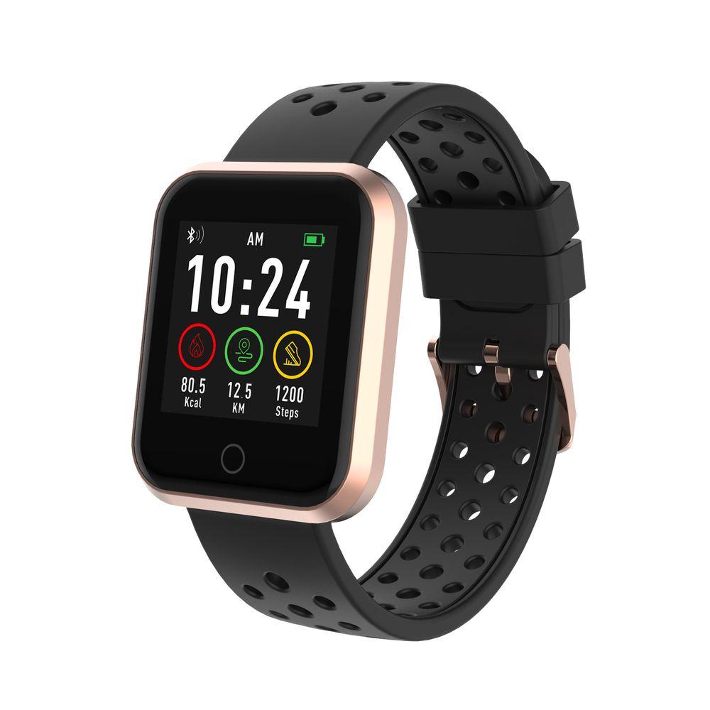 Relógio Smartwatch Seculus Quadrado Rose Gold 79006MPSVRE3 Urbano