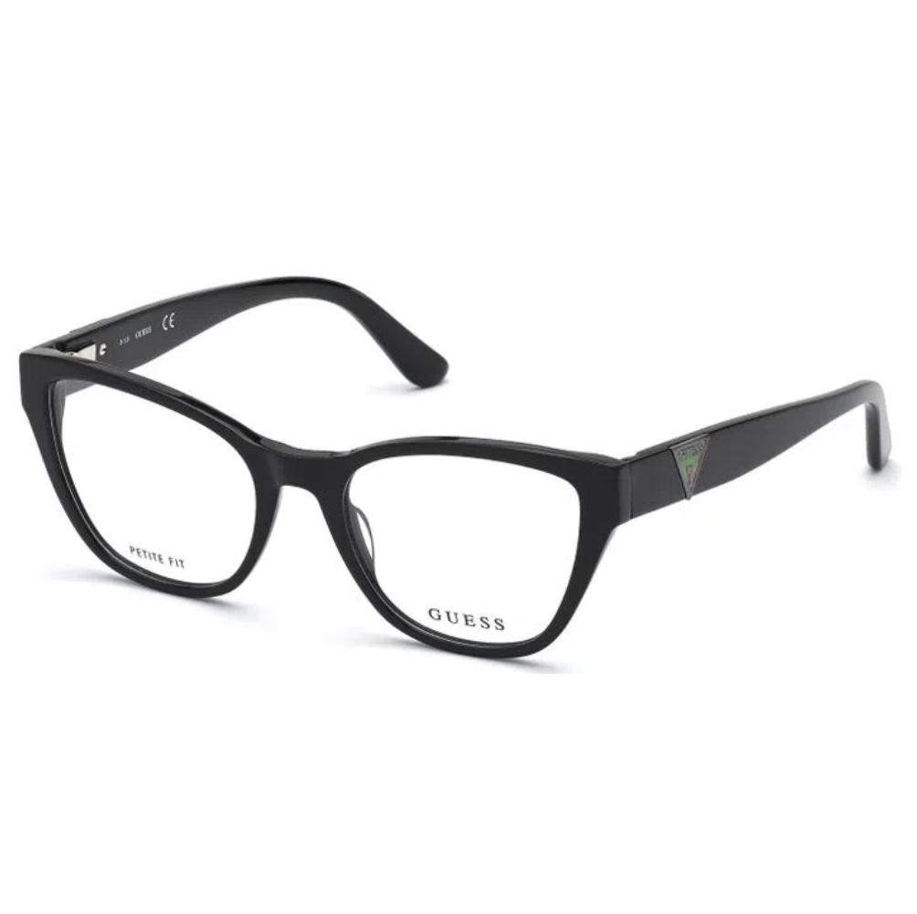 Guess - GU2828 001 55 - Óculos de Grau