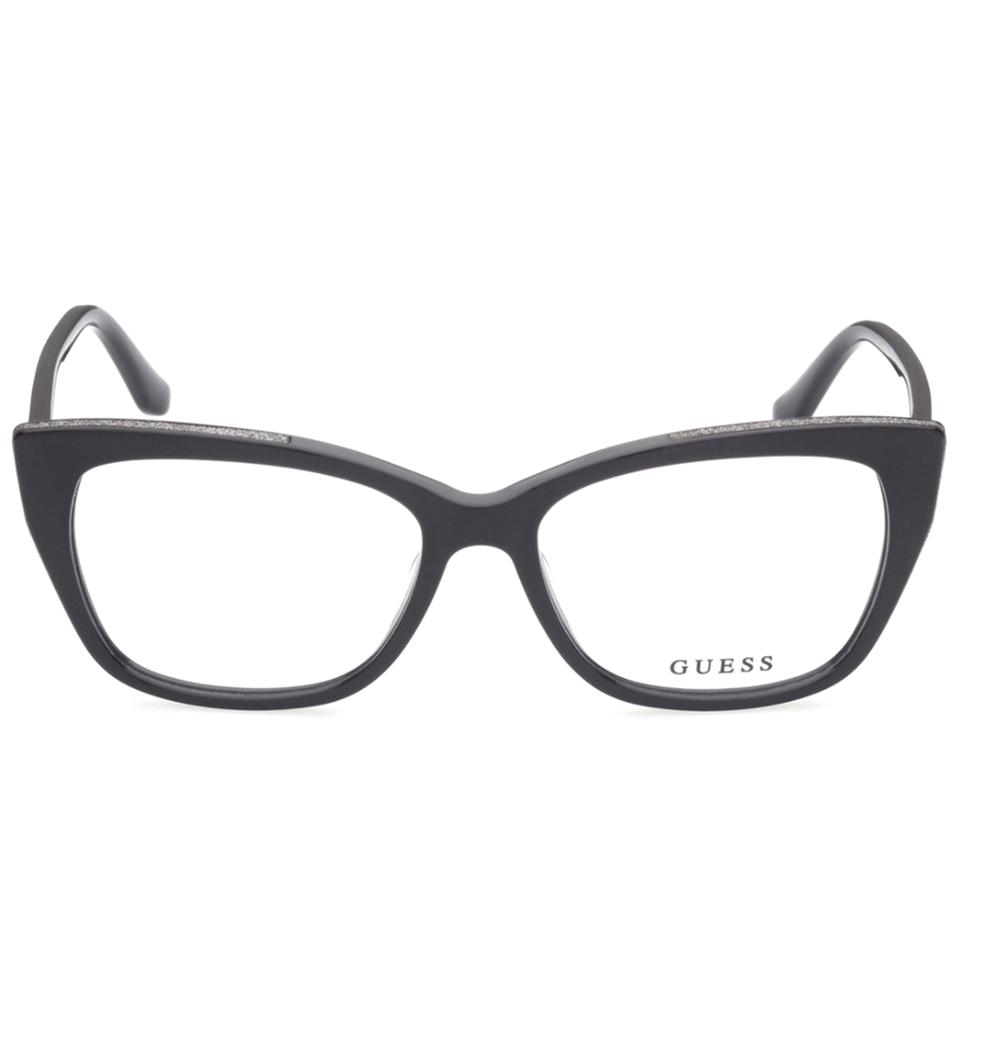 Guess - GU2852 001 55 - Óculos de Grau