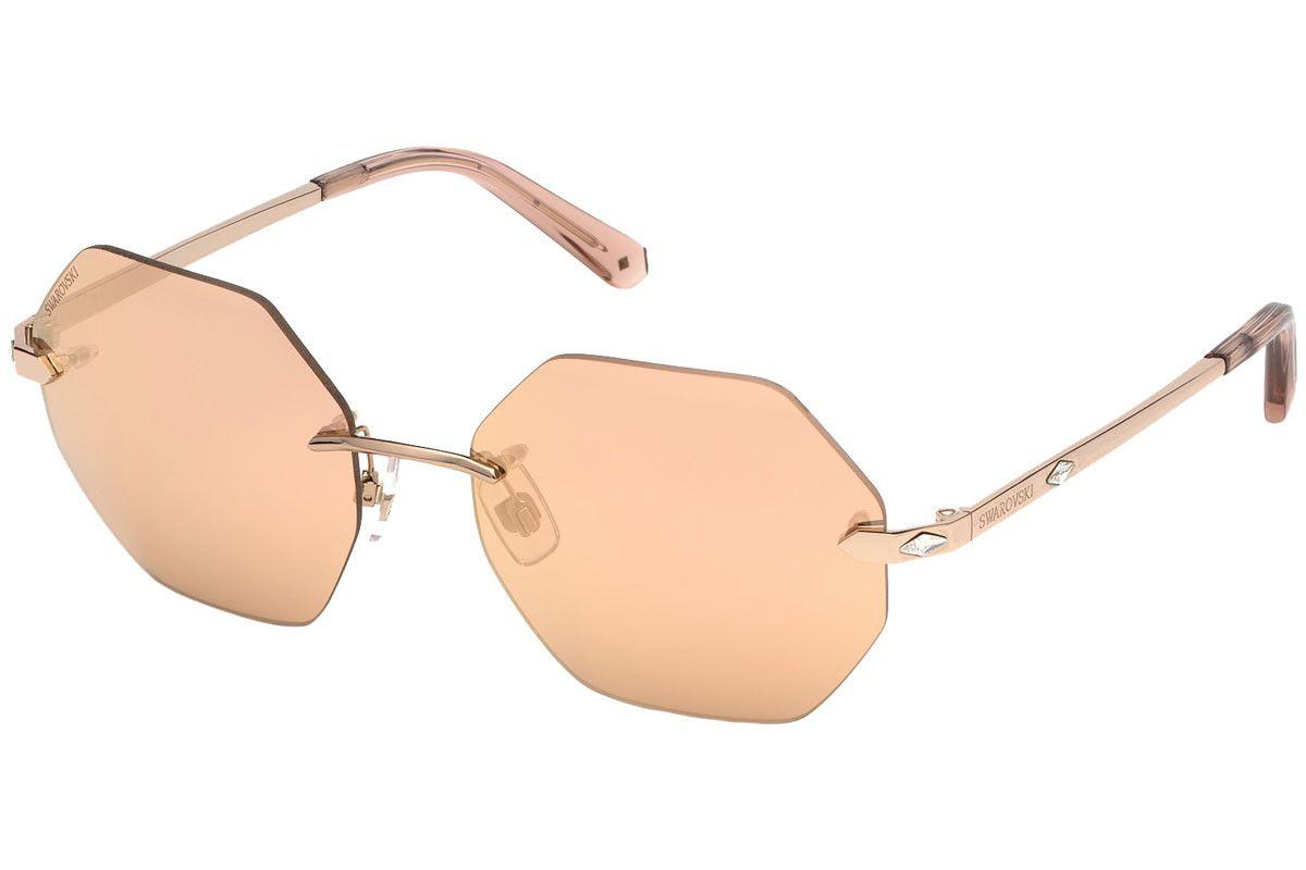 Swarovski - SK0193 28K 56 - Óculos de Sol