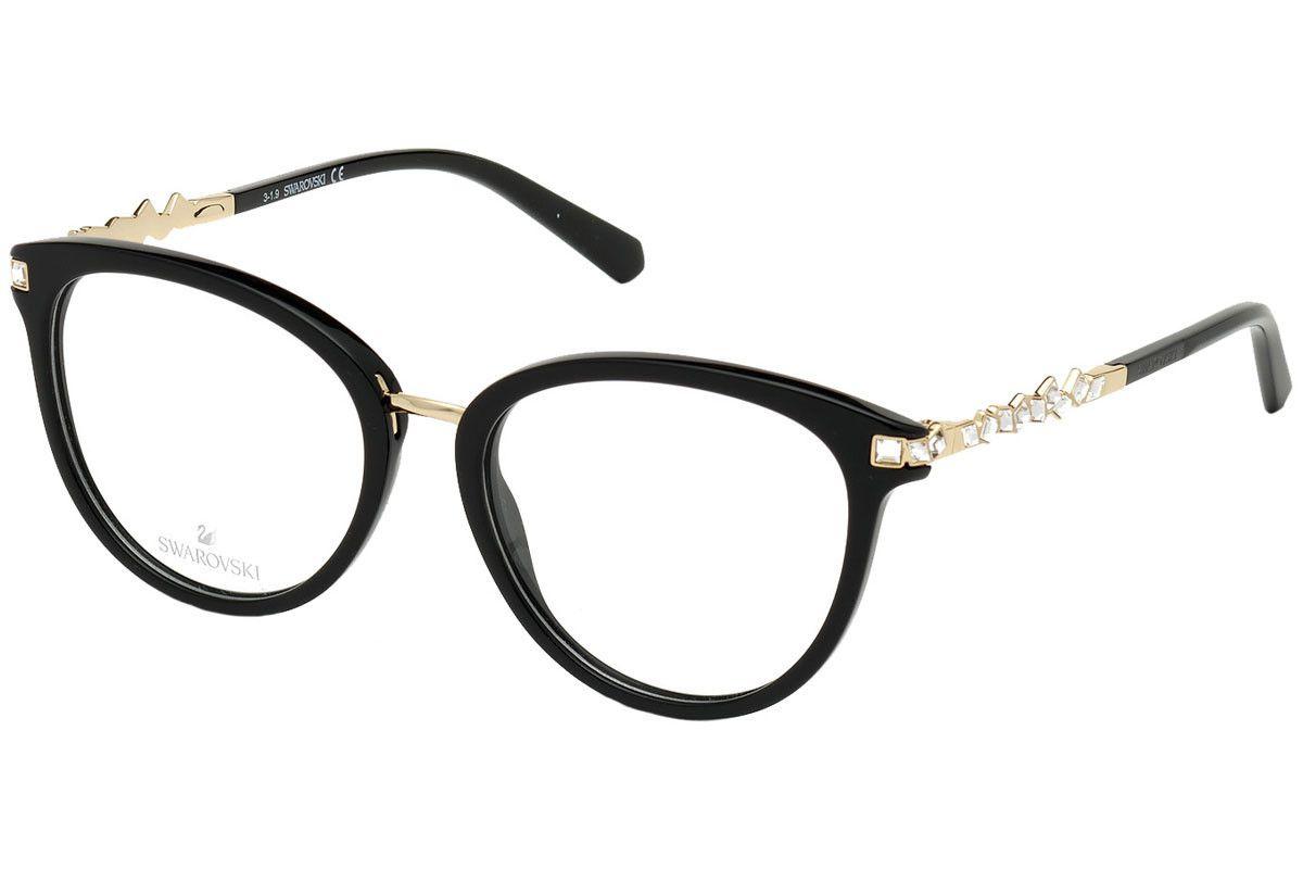 Swarovski - SK5344 001 - Óculos de grau