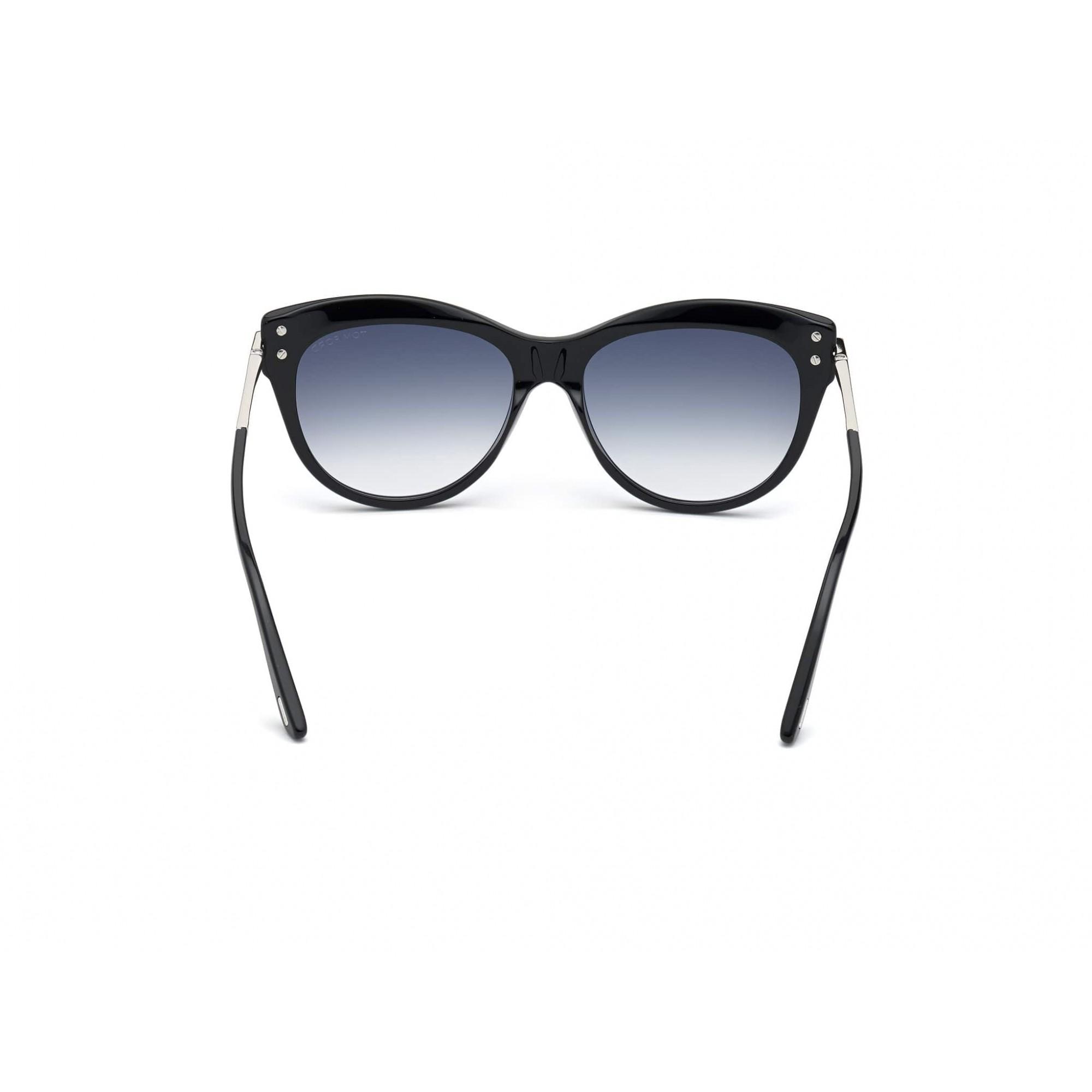 Tom Ford - FT0821 01B 56 - Óculos de Sol Feminino