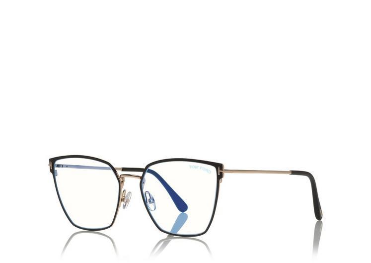 Tom Ford - FT5574 001 - Óculos de grau