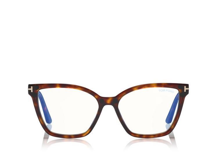 Tom Ford - FT5641-B 054 53 CLIP-ON - Óculos de grau
