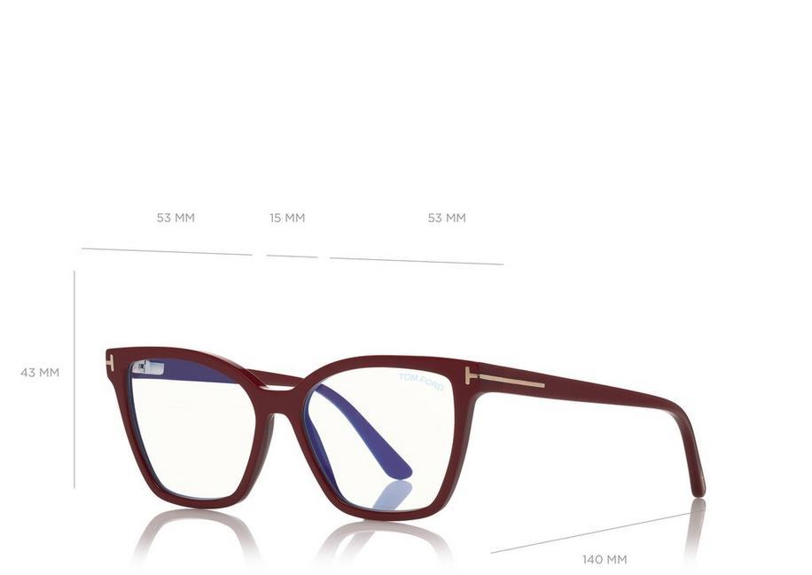 Tom Ford - FT5641-B 075 - Óculos de grau