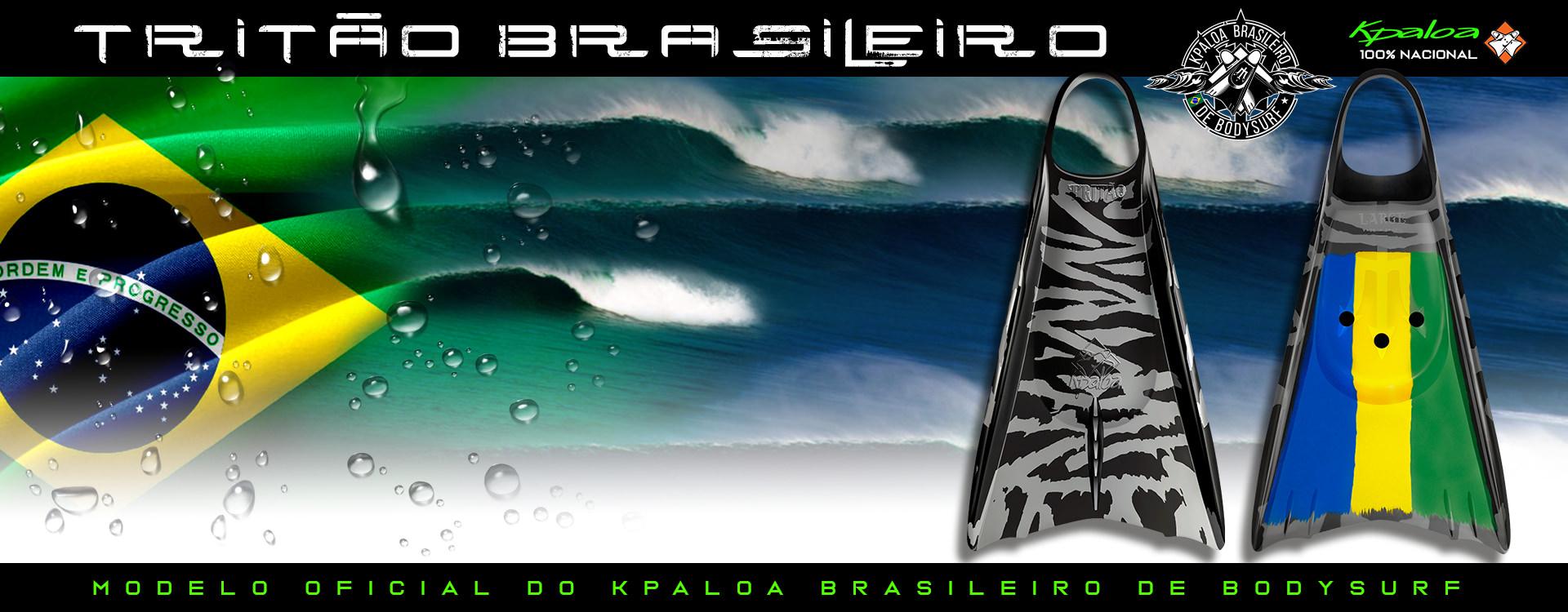 Pé de Pato Kpaloa Tritão Brasileiro