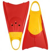 Pé de Pato Kpaloa Tritão Amarelo e Vermelho