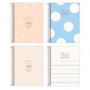 Caderno Espiral Capa Dura Colegial 10 Matérias Soho 160 Folhas - TILIBRA