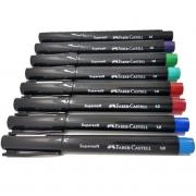 Caneta Supersoft Pen 1.0MM Ponta Media FABER-CASTELL - UNIDADE
