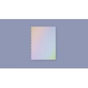 REFIL RAINBOW PAUTADO GRANDE 120 GRAMAS (CADERNO INTELIGENTE) - LINHAS BRANCAS