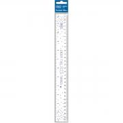 Régua Flexível Transparente Decorada 30cm Académie Tilibra
