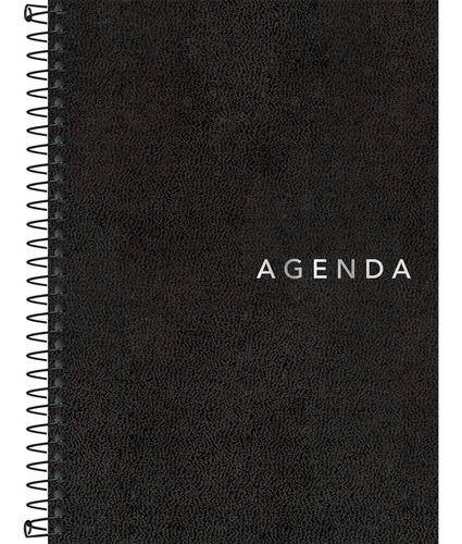 Agenda Executiva Espiral Diária 12,9 x 18,7 cm Napoli Permanente