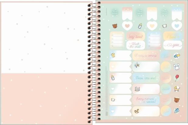 Agenda planner espiral semanal Mommy PERMANENTE - Tilibra