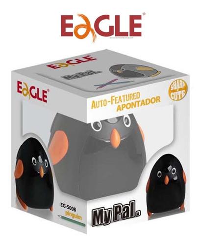 Apontador De Lápis Elétrico Pinguim Eagle Eg-5008